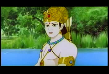 �������: ������� � �������� ���������� / Ramayana: The Legend of Prince Rama (1952) VHSRip | ���
